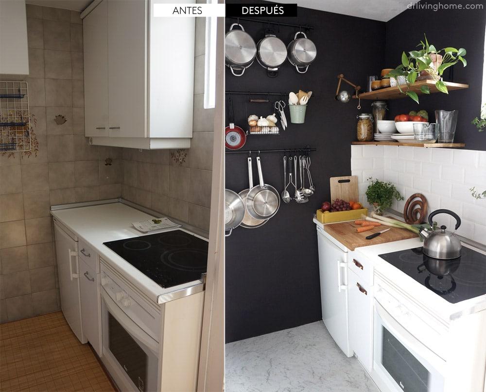 reforma cocina pequeña