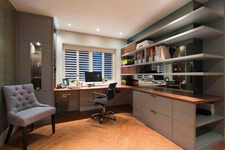reforma de oficina en casa