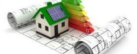 Casa con logo eficiencia energetica